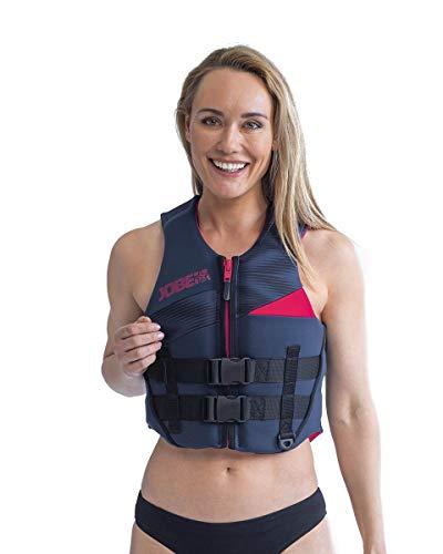 Jobe Traje de Neopreno de Neopreno para Mujer 50N Deportes acuáticos Waterski Jetski Wakeboarding Safety Impact Vest - Top - Azul Medianoche