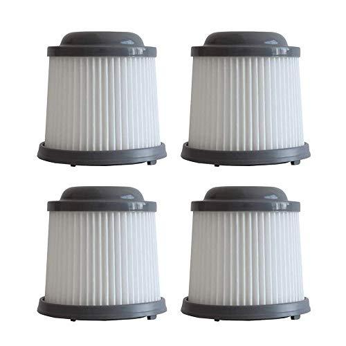 Taoric Filtro de Repuesto Filtro de aspiradora inalámbrico Reemplazar Pieza para Black & Decker PVF110 PHV1210 PV1020L PD11420L PHV1810 1820LF / G