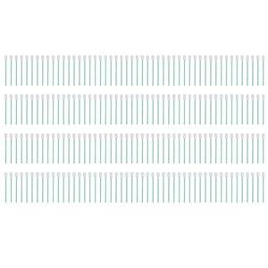 200Pcs Cleanroom Foam Tip Anti‑Static Plastic Rod Sponge Head Wiping Stick SU‑125VPCTS
