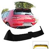 MCARCAR KIT Rear Spoiler fits Volkswagen VW Golf 7 VII MK7 GTI R 3Door 5Door Hatchback 2014-2019 Customized Gloss Back ABS Roof Window Top Wing Lip