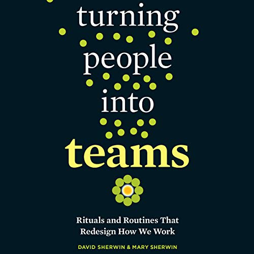 Turning People into Teams audiobook cover art