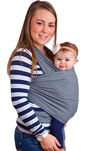 Wrap Sling 100% Algodão Carregador de Bebê