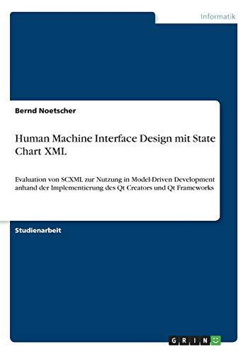 Human Machine Interface Design mit State Chart XML: Evaluation von SCXML zur Nutzung in Model-Driven Development anhand der Implementierung des Qt Creators und Qt Frameworks