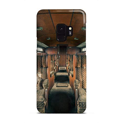 artboxONE Premium-Case Handyhülle für Samsung Galaxy S9 Holzklasse von Michael Schwan