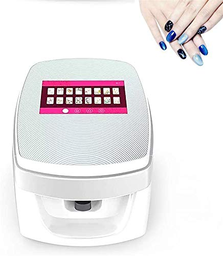 Multifunctionele Portable Nail Printers Machine Automatische Nail Schilderen Machine Mobile Wifi Wireless All-Intelligent 3D Nail Printers