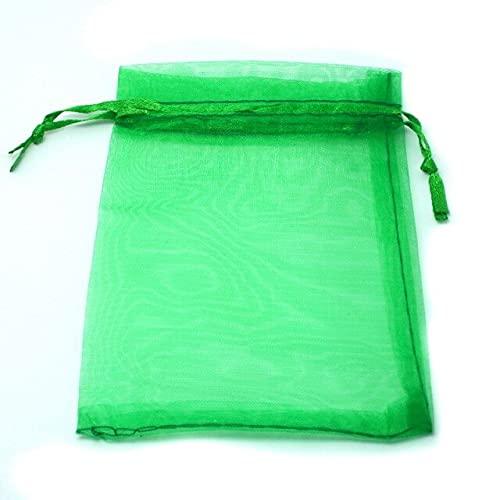 LINPO 30 unids/lote 7x9 cm 9x12 cm 10x15 cm 13x18 cm Cordón de organza Bolsas de embalaje de la joyería Boda Fiesta Bolsa de regalo Bolsa de joyería