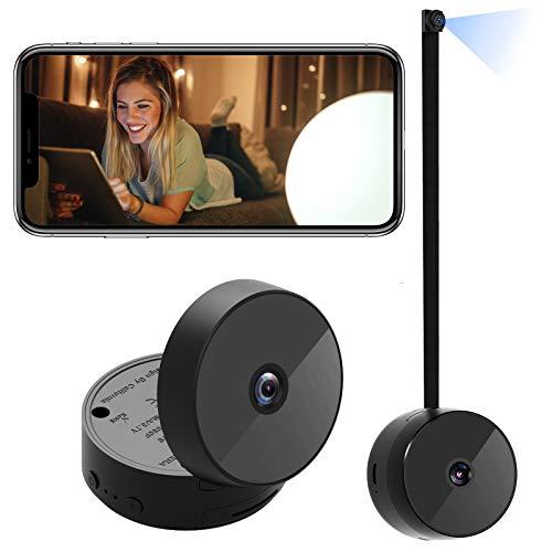 Spy Camera, WiFi Mini Hidden Cameras Wireless 1080P HD Nanny Cam for Home...