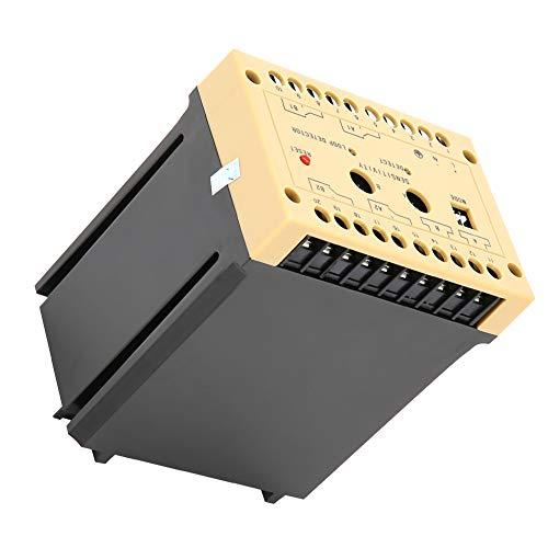 Changor Detector de vehículos de Grado Industrial, Hecho de Cubierta de Moldeado y Metales 0-4.5s Detector de Bucle de vehículos de retardo Ajustable para estacionamiento