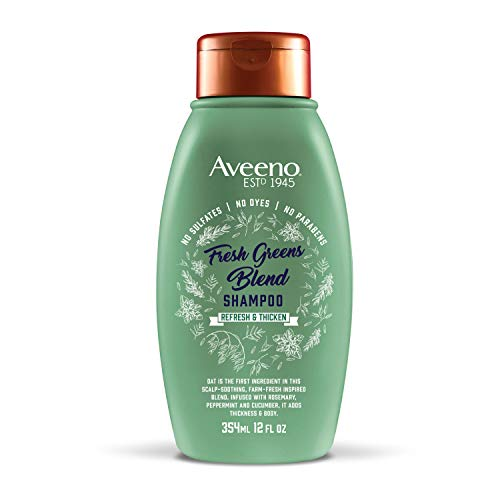 Aveeno Scalp Soothing Fresh Greens Blend Shampoo 12 Ounce