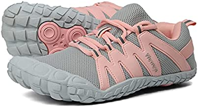Workout Shoes for Women Indoor Cross Training Weightlifting Spinning Biking Rowing Treadmill Cycling Bicycle Bike Fitness Gym Sneaker for Female Boxing Wide Feet Gray Pink US Size 8