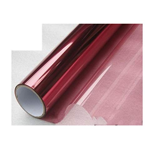 Window Films glassticker uit de film in de kleur zonnepapier van de laserbescherming Dell'Isolation Papier Transparant 30 x 100 cm,