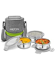 Milton Chic 2 Stainless Steel Tiffin Box with Jackets