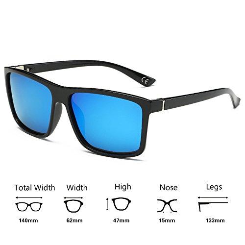 BVAGSS Uomini Polarizzati Occhiali Sole UV400