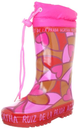 Agatha Ruiz de la Prada 121999 121999 - Zapatos para bebé para niña, color rojo, talla 32
