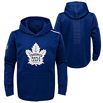 OuterStuff Toronto Maple Leafs Youth Authentic Pro Rinkside Core Pullover Hoodie - Size Youth Medium  10/12