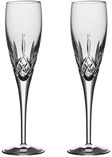 Galway Crystal Set of 2 Champagne Flutes