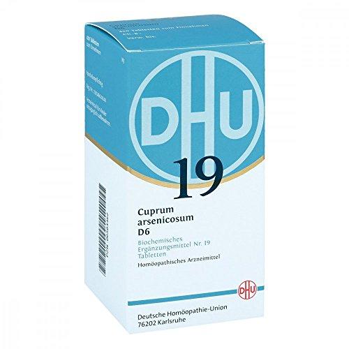 DHU Schüßler-Salz Nr. 19 Cuprum arsenicosum D6 Tabletten, 420 St. Tabletten