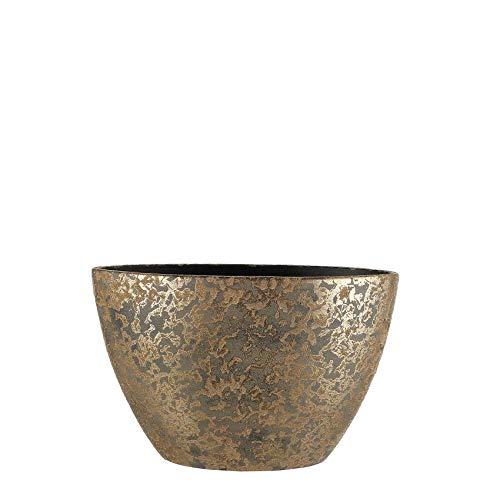 Mica Decorations Bloempot binnen Clemente ovaal goud - 26 x Ø 41 cm