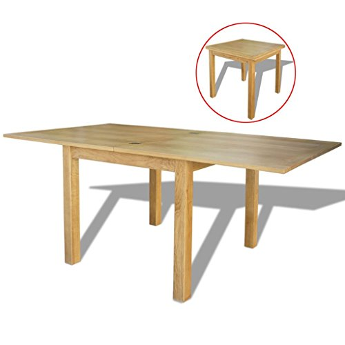 Weilandeal Extendable Table Oak 170x85x75 cm Materiaal: Eiken ronde tafel ronde tafel
