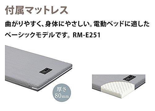 パラマウントベッド『インタイム1000電動リモートコントロールベッド(1+1モーター)(RQー1133SC)』