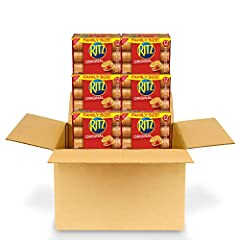 Pack of six 17.8 oz boxes for 72 total stacks of RITZ Fresh Stacks Original Crackers Flaky and delicious snack crackers with a rich, buttery flavor Perfect crackers for snacking, appetizers or quick meals Pairs with almost any topping, from meat and ...