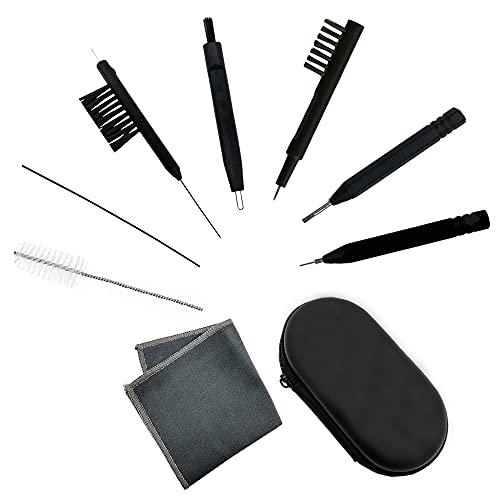 8-teiliges Reinigungsset Reinigungswerkzeug für Hörgeräte im praktischen Reise-Etui