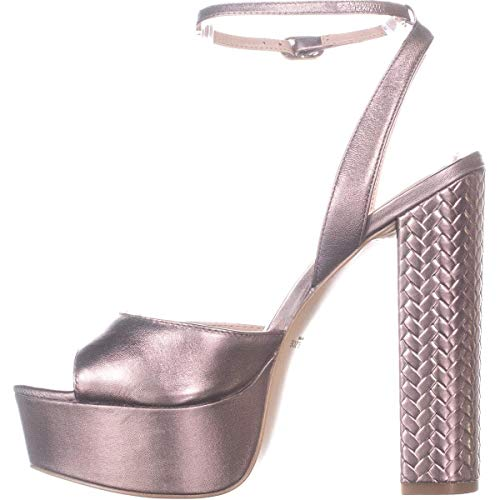 Price comparison product image RACHEL ZOE Womens Claire Peep Toe Special Occasion Ankle Strap,  Blush,  Size 11.0
