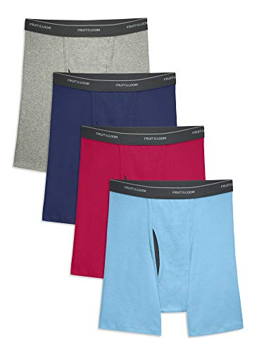 Fruit of the Loom Men's CoolZone Boxer Briefs, Assorted Colors, Small