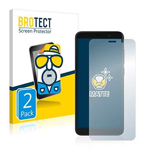 BROTECT 2X Entspiegelungs-Schutzfolie kompatibel mit Archos Access 57 Bildschirmschutz-Folie Matt, Anti-Reflex, Anti-Fingerprint