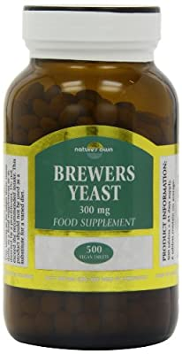 Natures Own 300mg Brewers Yeast 500 Tablets