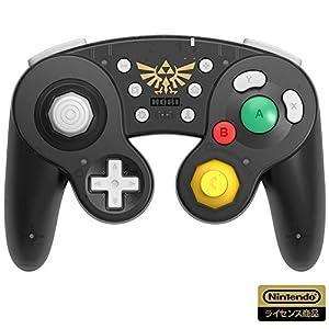 【任天堂ライセンス商品】ホリ ワイヤレスクラシックコントローラー for Nintendo Switch ゼルダの伝説 【Nintendo Switch対応】