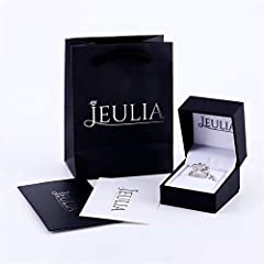 Jeulia Women 1.5 ct 14K Gold Plated Wedding Ring Set 925 Sterling Silver Gone Tone Engagement Rings Round Cut Cubic Zirconia Twist Band Ring Anniversary Promise For Her Teen Girls (Gold, S-½) #5