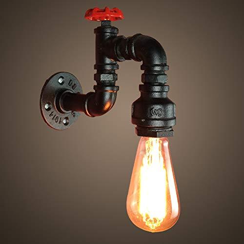 PElight Retro Waterleiding, decoratieve wandlamp, industriële wandlamp, steampunk, vintage, wandverlichting voor woonkamer, werkkamer, slaapkamer, woonkamer