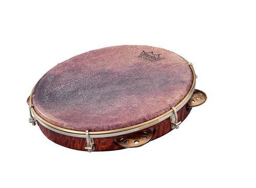 Remo PD-8210-81-113 Remo Global Frame Drums und Tambourins Pandeiro Choro 25,4 cm (10 Zoll) x 4,5 cm (1,75 Zoll)