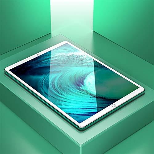 YCHCDR 10.5-inch 4G tablet, 10GB + 128GB, 15000mAh battery, ten-core X30 processor (green)