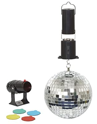 Cheetah G007BA 6-Inch Mirror Ball Party Set