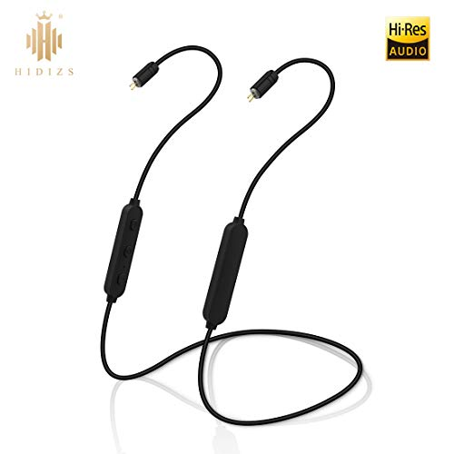 HIDIZS BT01 APT-X 4.1 Bluetooth Headphones Detachable Cable, Replacement Headset Cable Neckband Bluetooth Receiver Built in HD Microphone with 2Pins 0.78mm