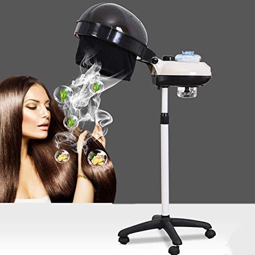 AYHa 350W 700W réglable Orbiting Halo Sèche-cheveux Stand up Salon roulant Roues Processeur Couleur des cheveux accélérateur professionnel pour la maison Salon de coiffure Dyeing Perming Équipement