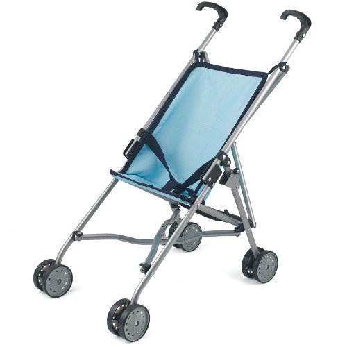 Dolls World 8621 - Silla de Paseo para muñeco, Color Azul
