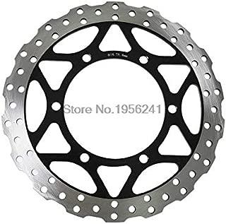 TLU-Kaxu - Metallic Front Brake Disc Rotor for Kawasaki Ninja 250R ABS 2008 2009 2010 2011 2012 Motorbike Front Brake Disc Rotor