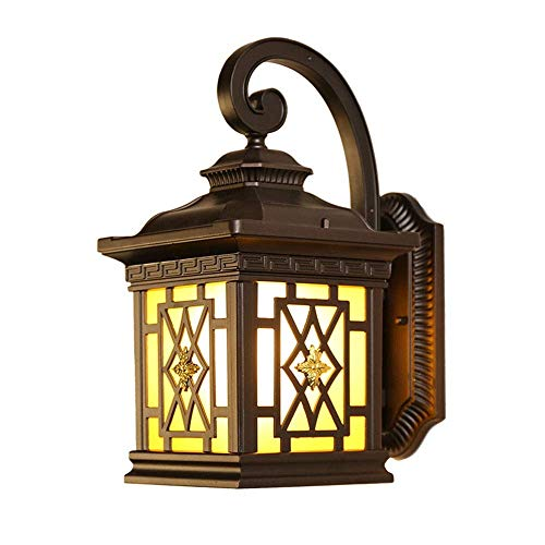 Retro Outdoor muur Licht, waterdicht Blaker Garden Facade Lamp buitenkant decoratie Lamp, for de voordeur, Tuin, Yard, Garage