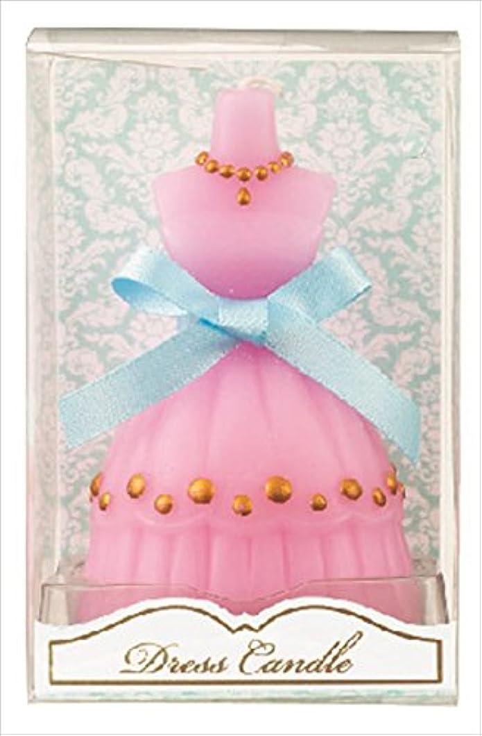 祝福するフルートフルートカメヤマキャンドル(kameyama candle) ドレスキャンドル 「 ピンク 」 キャンドル