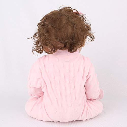 Kaydora Reborn Baby Doll Girl, 16 inch Full Body Silicone, Cute Lifelike Handmade Doll