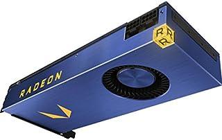 AMD Frontier Edition 16GB - Tarjeta gráfica (Radeon Vega Frontier Edition, 16 GB, 2048 bit, 945 MHz, PCI Express x16 3.0, 1 Ventilador(es))