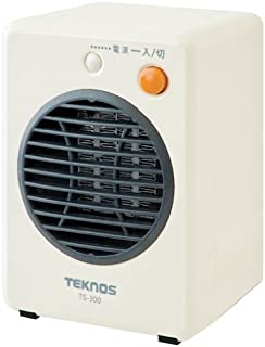 TEKNOS モバイルセラミックヒーター オレンジ TS-320