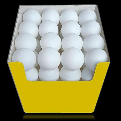 vabiono® Tischtennis Bälle Tischtennisbälle ••• 22 Stück Trainings-Ball PingPong weiß Ø 40+ mm 3***
