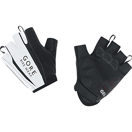GORE BIKE WEAR Power 2.0 - Guantes de ciclismo para hombre, color blanco, talla 9