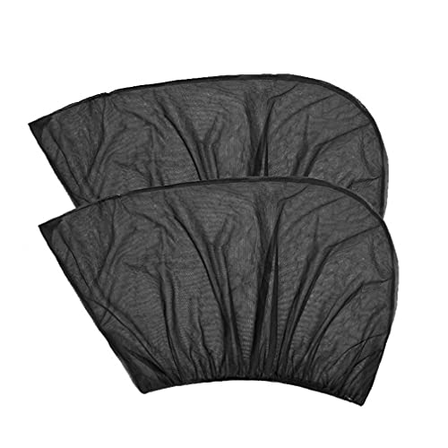 Accesorios De Diseño De Coche Auto UV Protect Cortina Ventana Lateral Parasol Malla Negro
