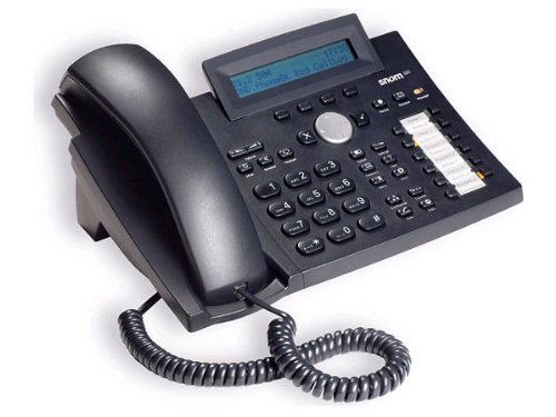 Snom 320 12lines LCD Wired handset Black