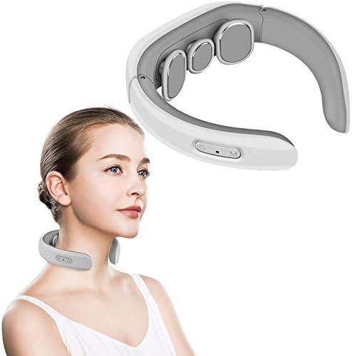 Cotsoco Neck Massager Electric Pulse Neck Massager Intelligent Deep Tissue Neck Massage for product image